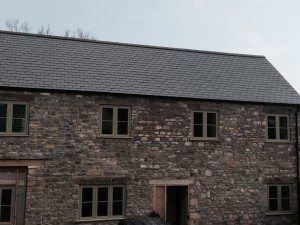SIGA Slate has been carefully selected for the renovation of Hounds Road; a private residential property in Chipping Sodbury, Bristol.