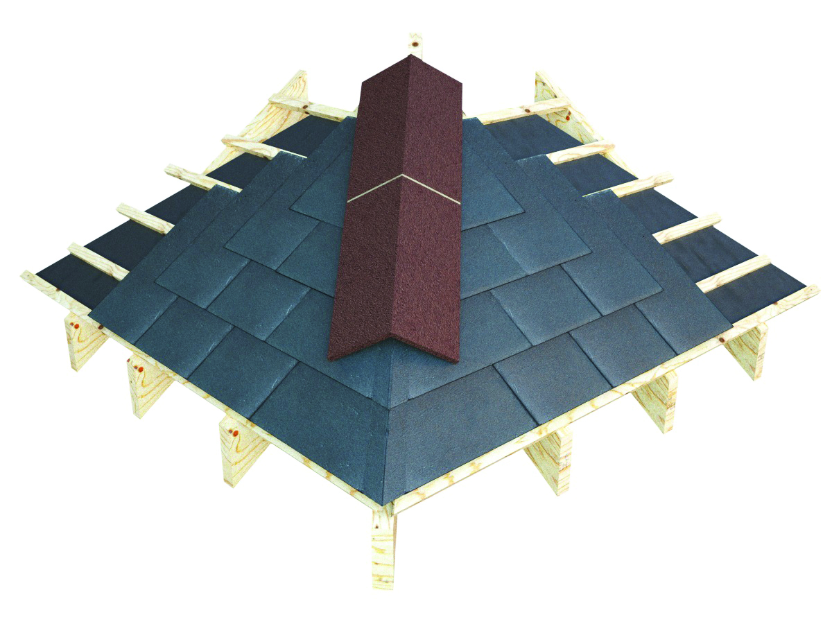 Natural Slate Good Practice For Ridges Valleys Eaves And