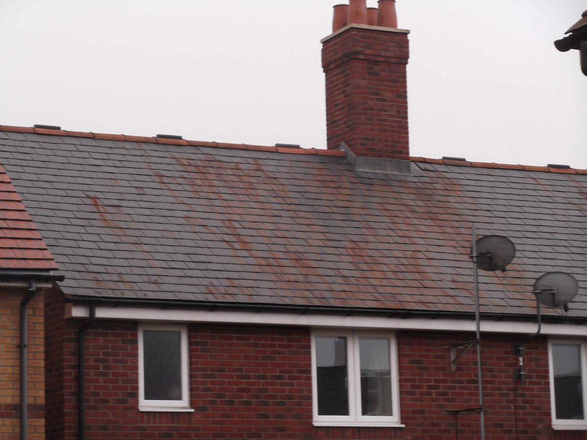 How to avoid a Rusting Slate Roof