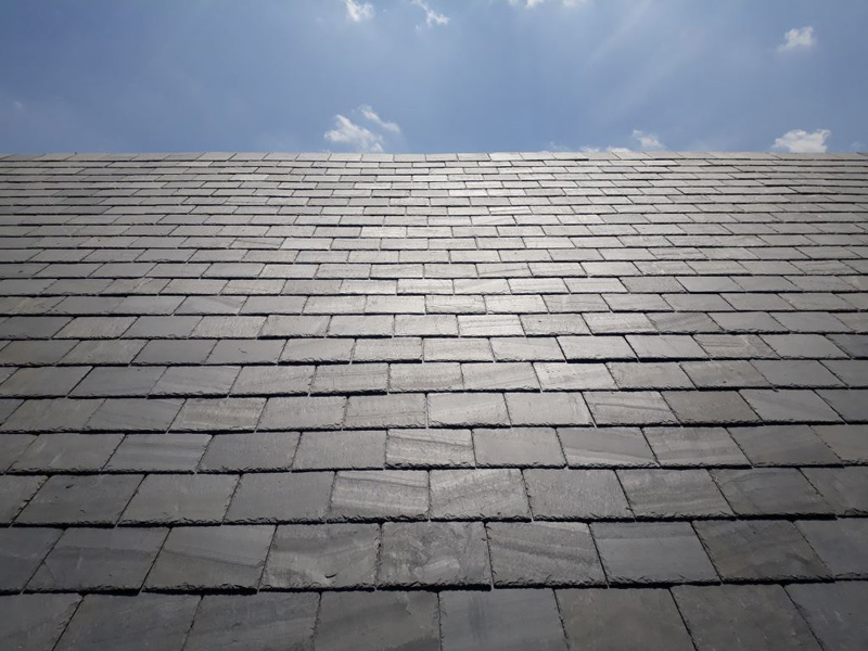 What are the patterns on my natural slate roof? | SIGA : SIGA